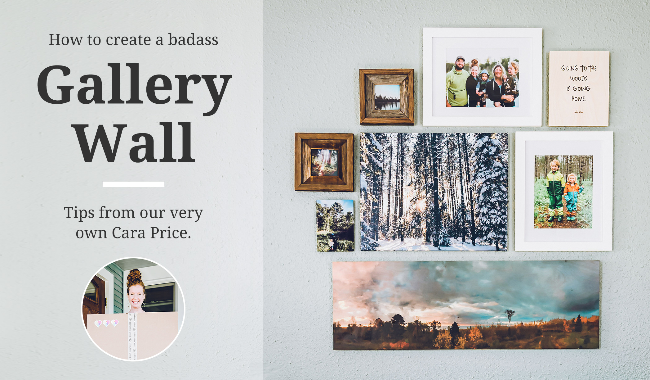Gallery Wall Tips by our very own Cara Price.
