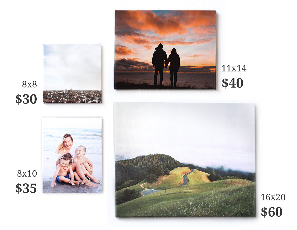 Canvas Prints- Affordable Prices