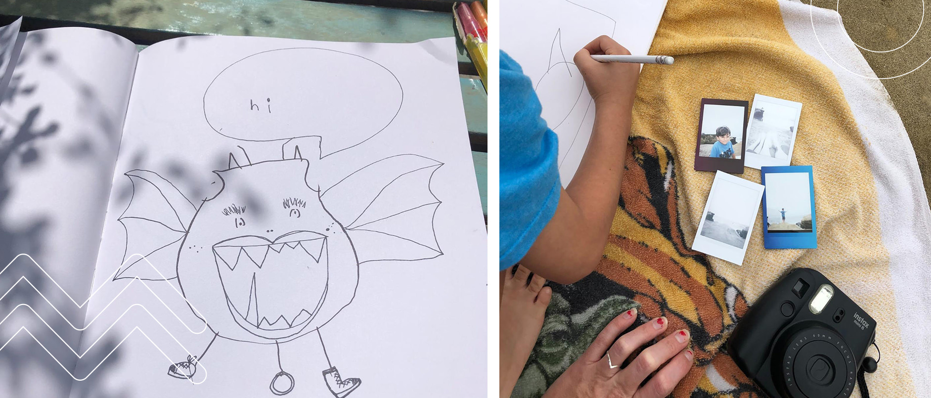 Creativity in Parenting - Coloring
