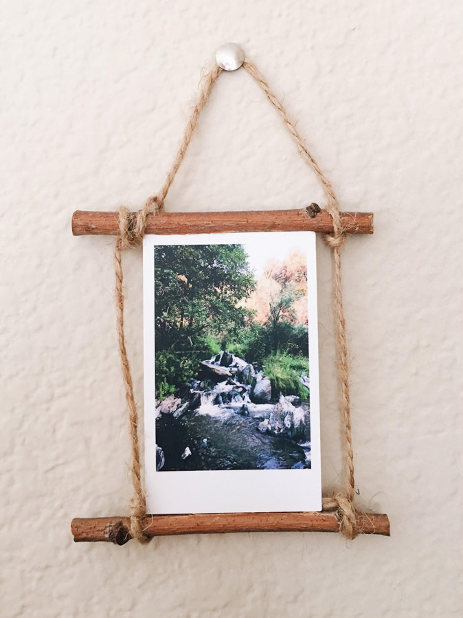 DIY Rustic Display - Mini Print