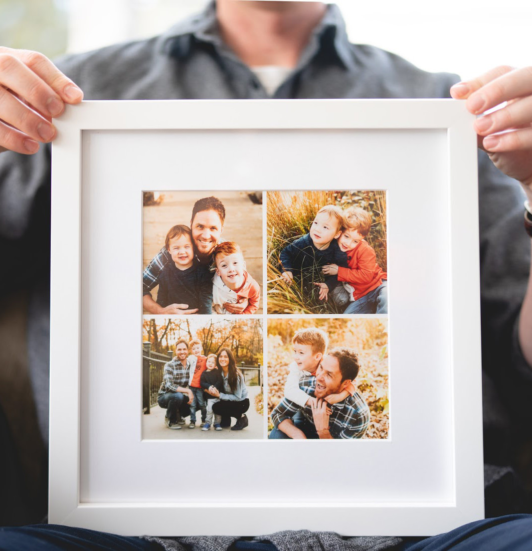Gift Guide for Him - Grid Frame