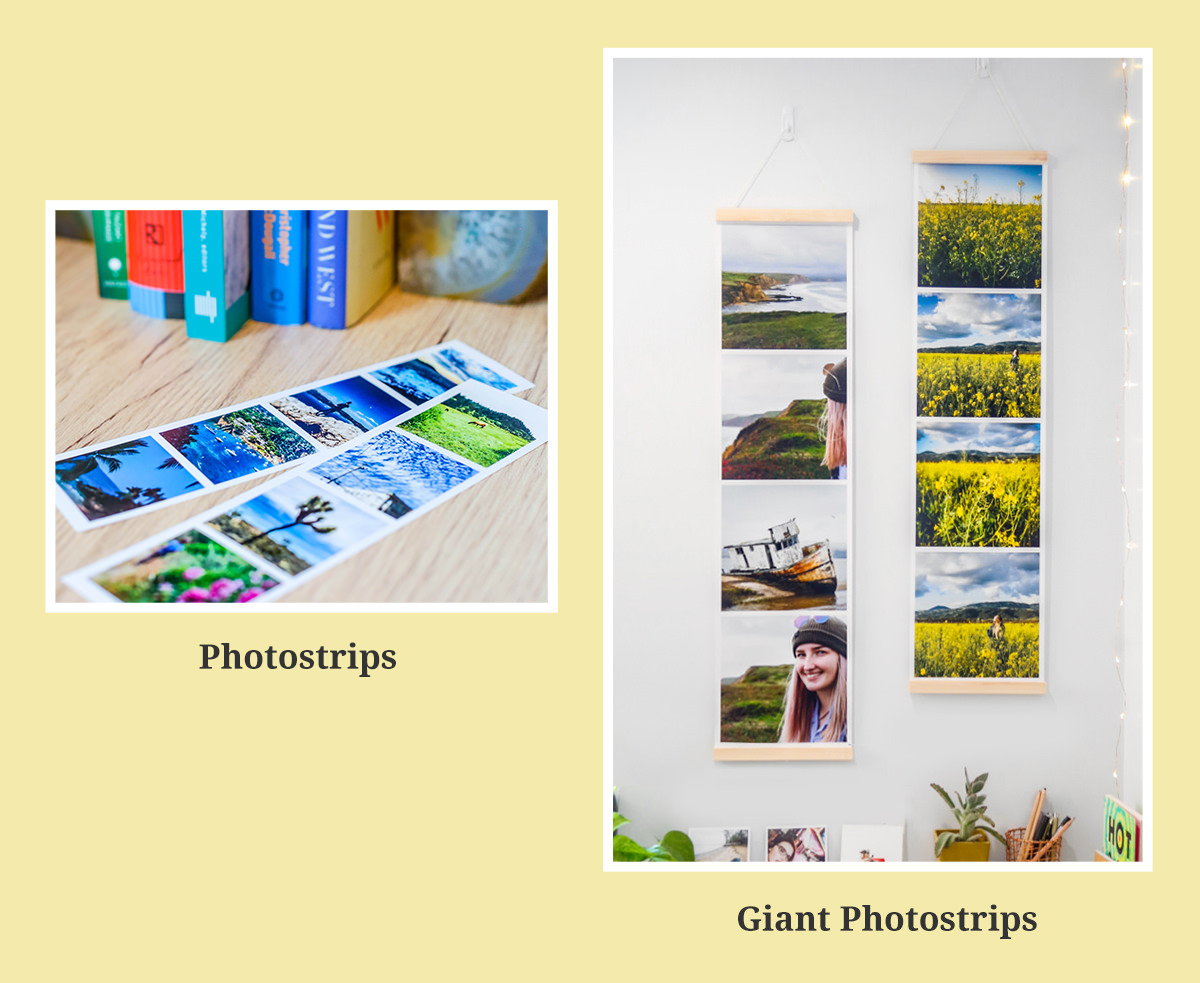 Photostrips and Giant Photostrips