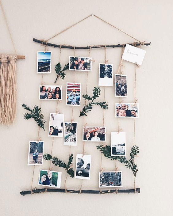 DIY Rustic Display - Photo Display