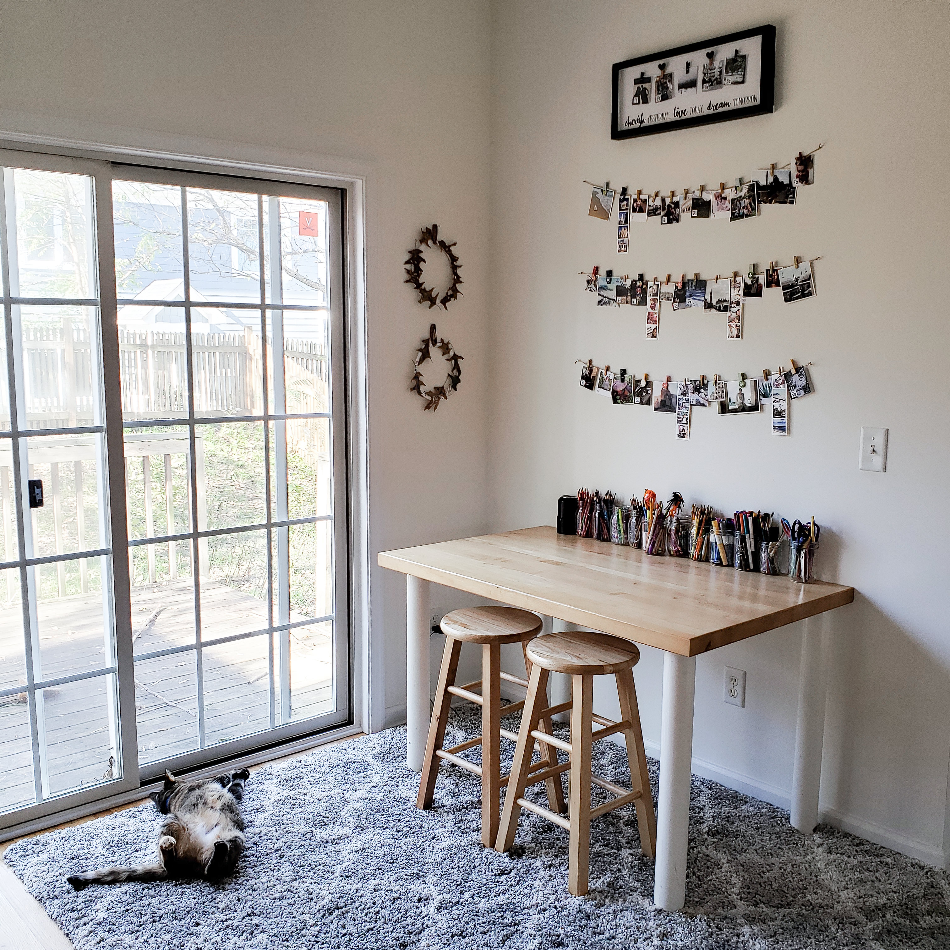 Sarah Moore DIY projects tp transform your space Craft Table