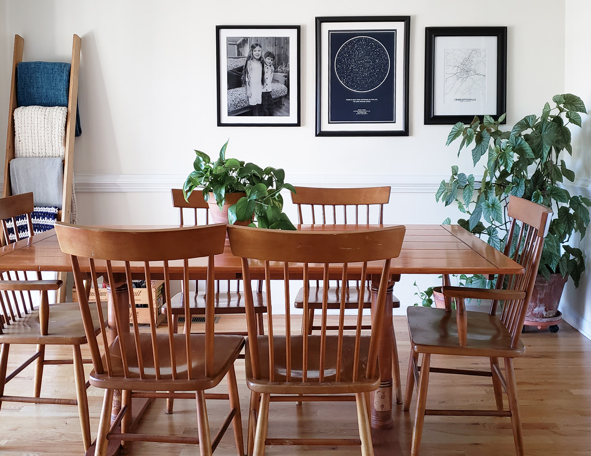 Sarah Moore DIY projects tp transform your space Dining Room