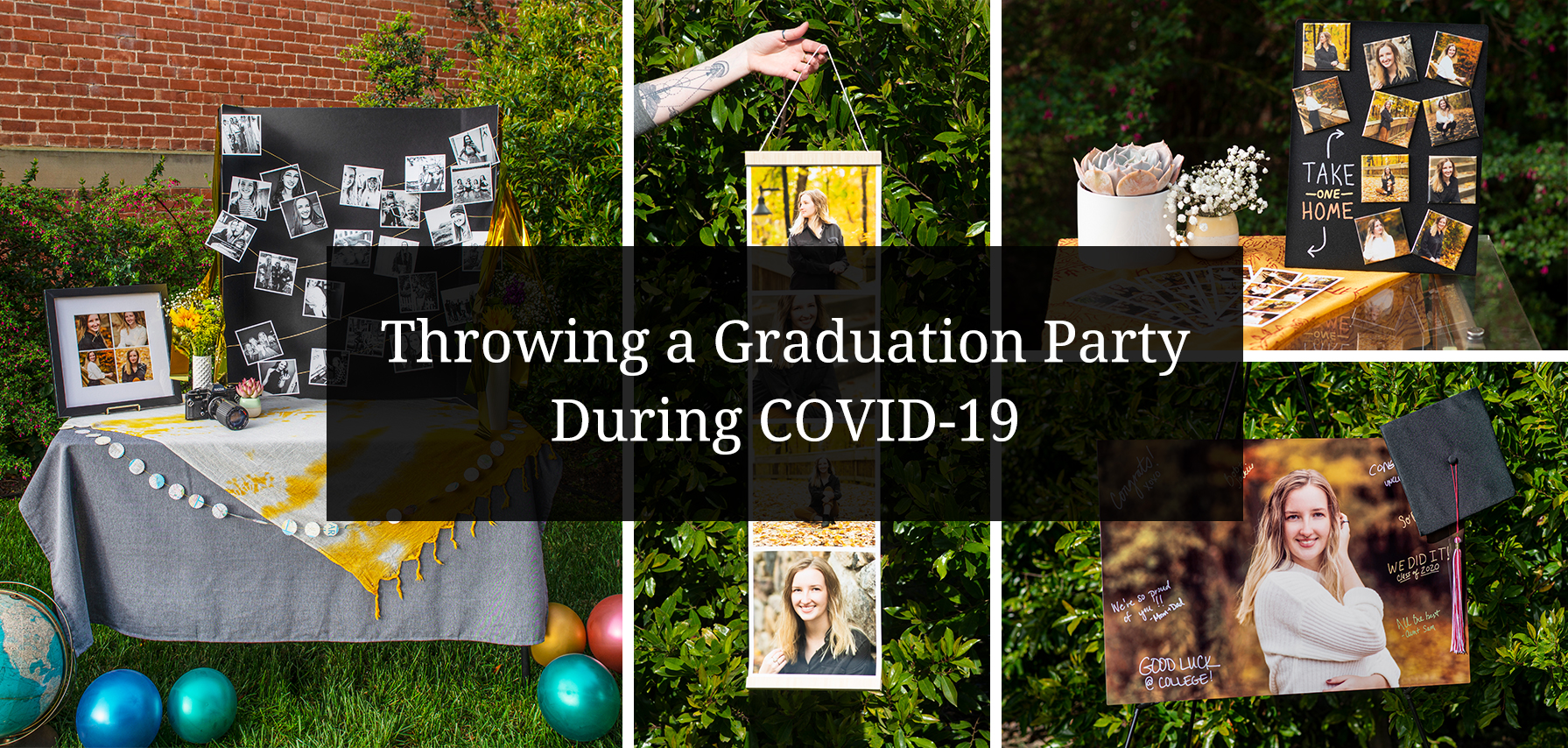 Throwing A Graduation Party During Covid 19 Social Print Studio