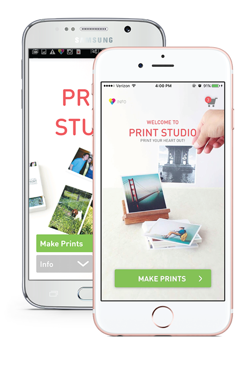 print studio app | the best way to print your iphone and android pos