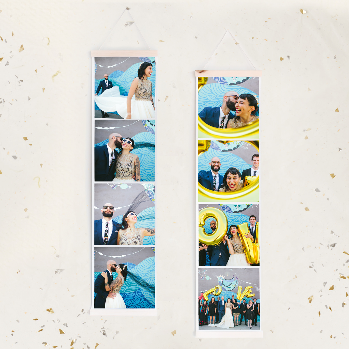 Giant Photo Booth Strips