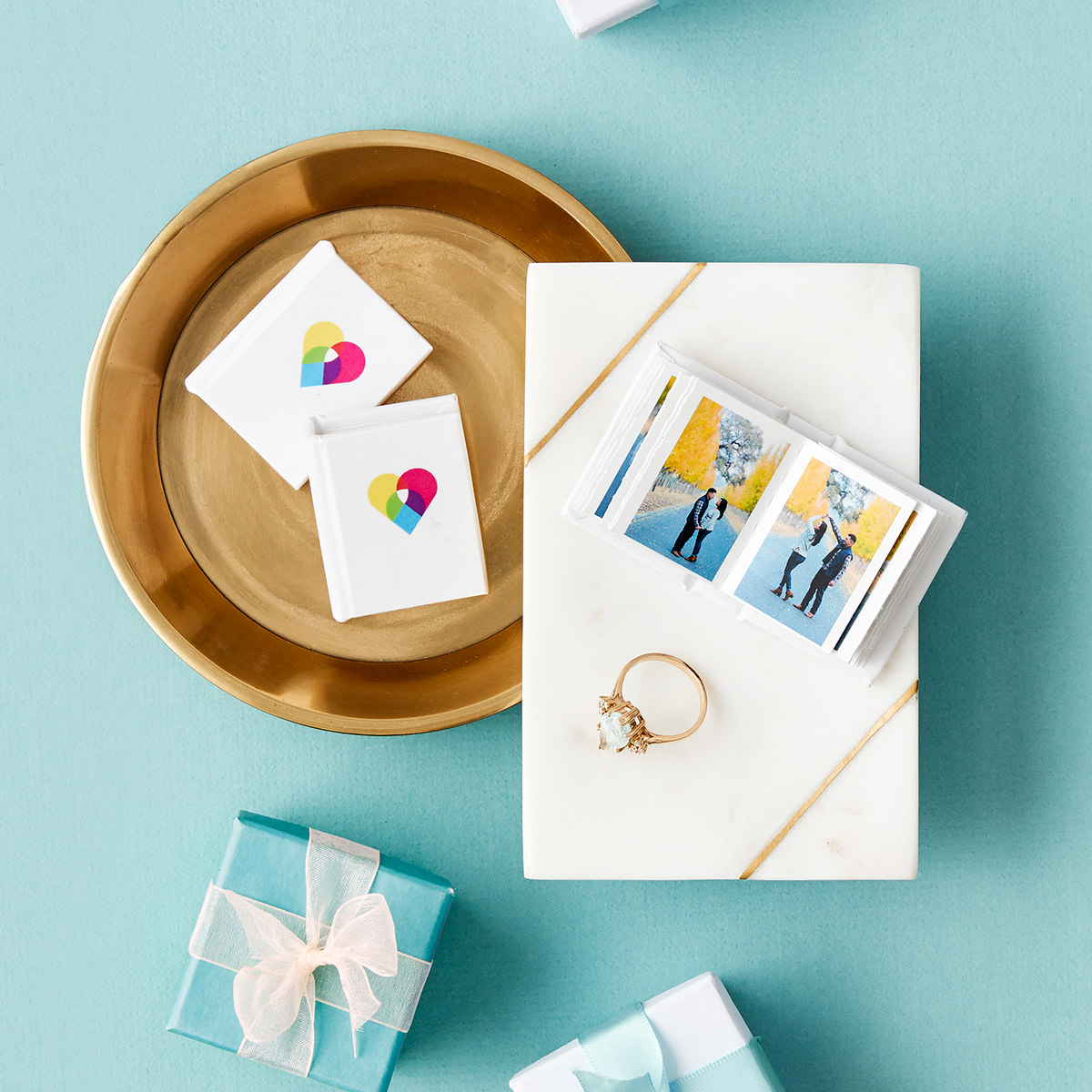 Tiny Books as Wedding Favors